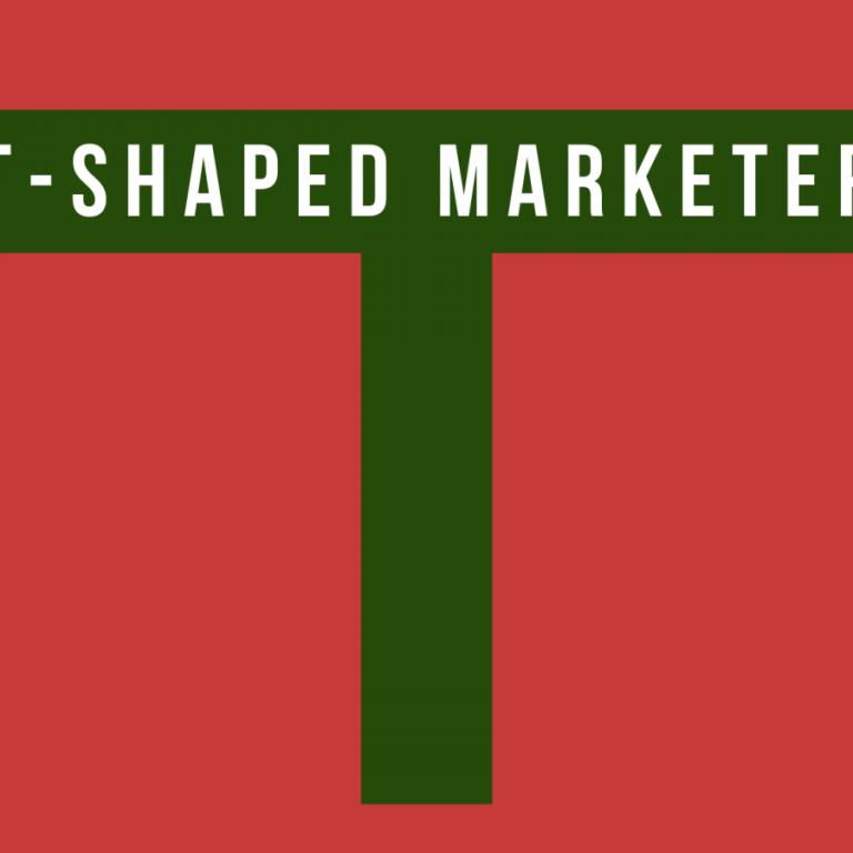 Kim jest T-shaped marketer