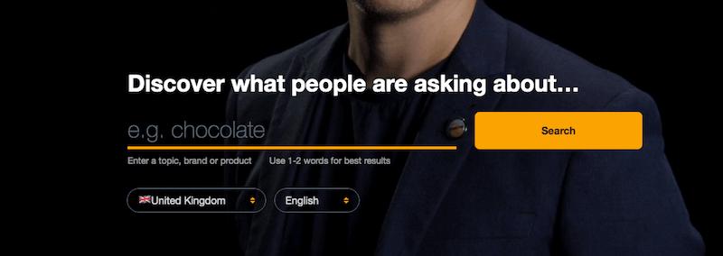 answer the public - narzędzia dla copywritera