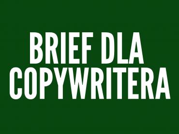 Brief dla copywritera