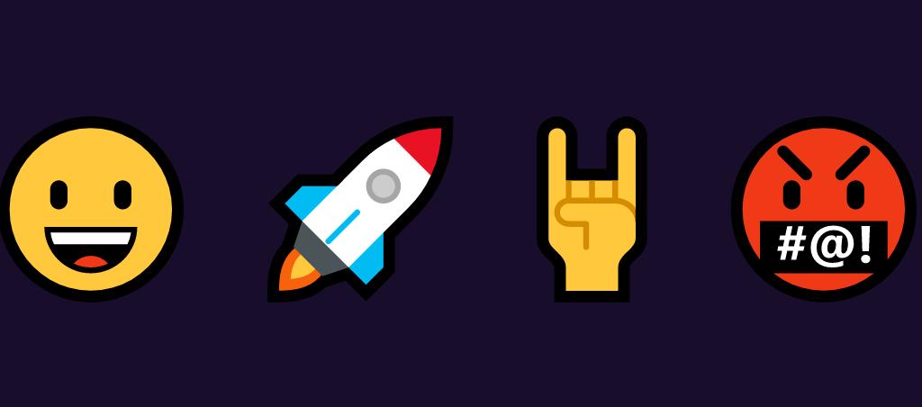 Przykłady emojis